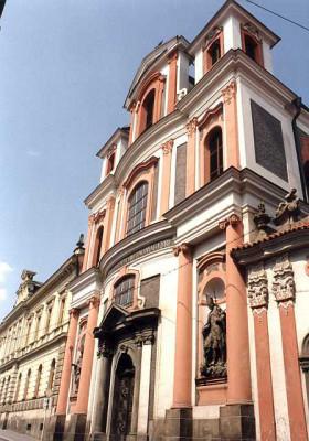 Kutná Hora, kostel sv. Jana Nepomuckého