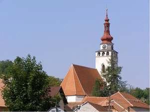 Blučina, kostel Nanebevzetí Panny Marie