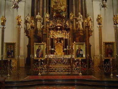 Praha 1 - Staré Město, katedrála sv. Klimenta