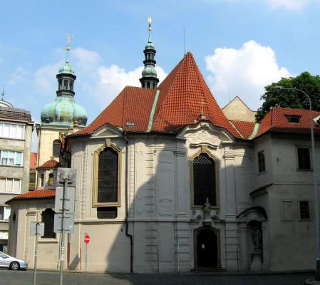 Praha 1 - Nové Město, kostel sv. Vojtěcha
