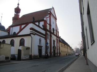 Moravská Třebová, kostel sv. Josefa