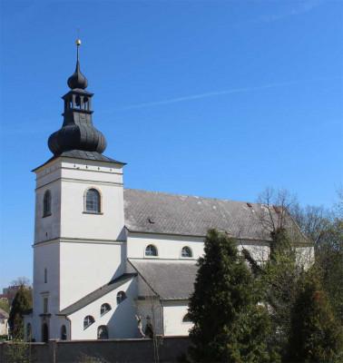 Svitavy, kostel sv. Jiljí