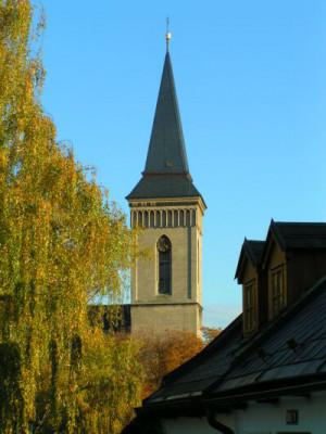 Kutná Hora, kostel Panny Marie na Náměti