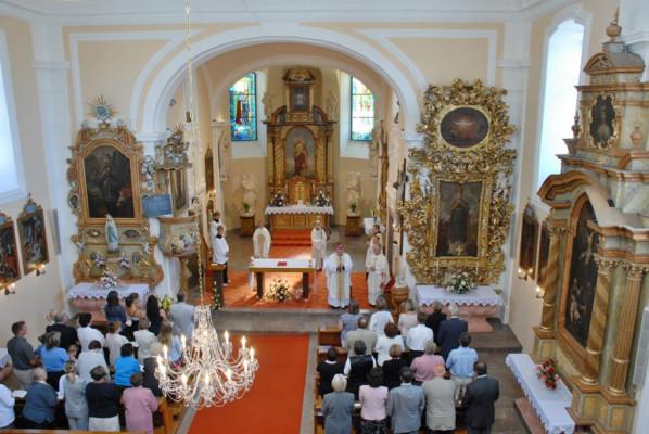 Divišov, kostel sv. Bartoloměje