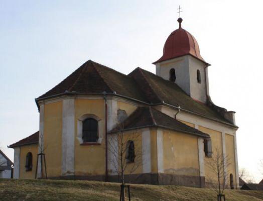 Volduchy, kostel sv. Bartoloměje