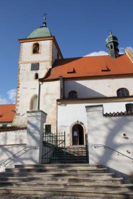 Starý Plzenec, kostel sv. Jana Křtitele