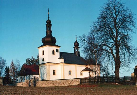 Velká Bukovina - Malá Bukovina, kostel sv. Václava