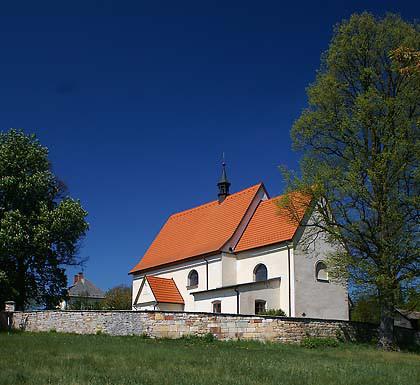 Slatina nad Úpou - Boušín, kostel Navštívení Panny Marie