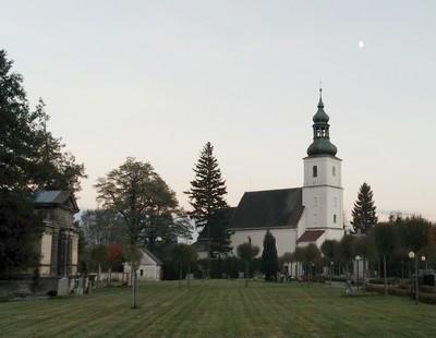 Bernartice u Javorníku, kostel sv. Petra a Pavla