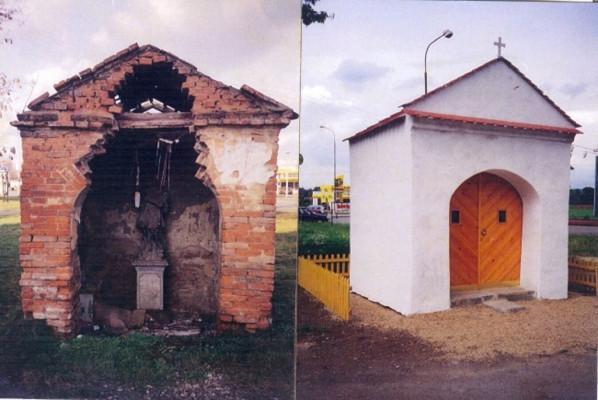 Brno-Komárov, kaple sv. Jana Nepomuckého - Královka