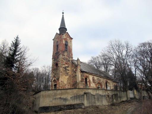 Manětín-Luková, kostel sv. Jiří