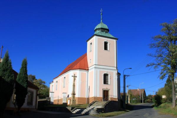 Partutovice, kostel sv. Mikuláše