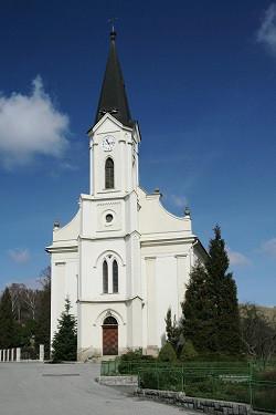 Hošťálková, kostel Českobratrské církve evangelické