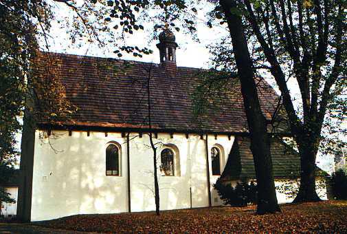 Valašské Meziříčí - Krásno, kostel sv. Jakuba