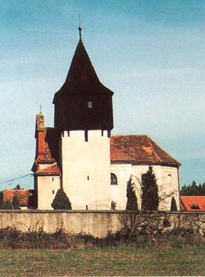Chlístovice, kostel sv. Ondřeje