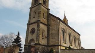 Dvory-Veleliby, kostel sv. Václava