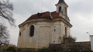 Velenka, kostel sv. Petra v okovech