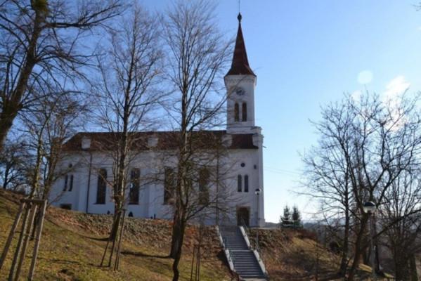 Zádveřice-Raková, evangelický kostel