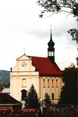 Růžová, kostel sv. Petra a Pavla