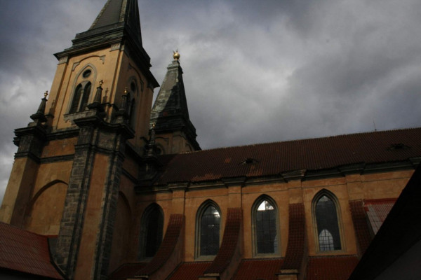 Roudnice nad Labem, kostel Narození Panny Marie