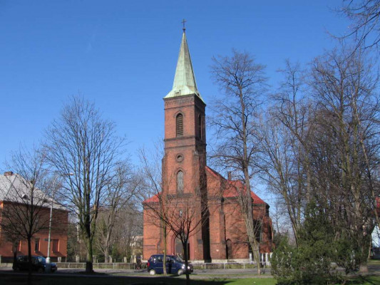 Bohumín-Nový Bohumín, evangelický kostel a.v.