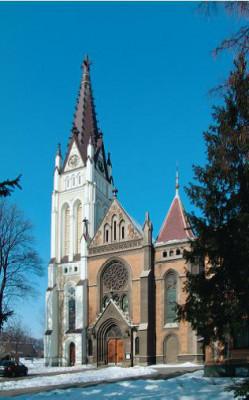 Český Těšín, kostel Nejsvětějšího Srdce Ježíšova