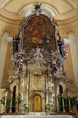 Chodov, kostel sv. Vavřince