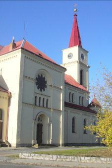 Ořechov u Brna, kostel Všech svatých