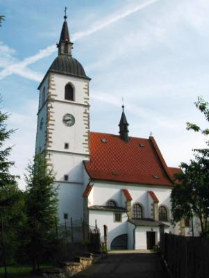 Stará Ves nad Ondřejnicí, kostel Narození sv. Jana Křtitele