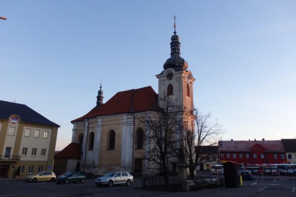 Uhlířské Janovice, kostel sv. Aloise