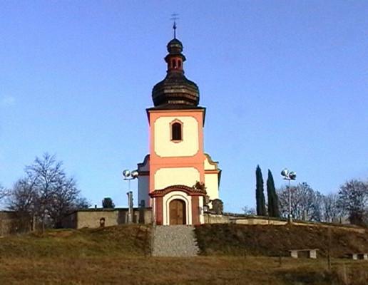 Lštění, kostel sv. Klimenta, Hradiště