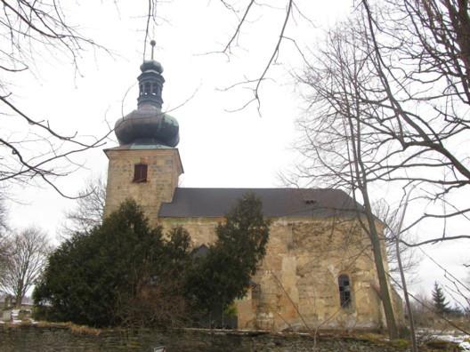 Bezvěrov-Krašov, kostel sv. Ondřeje