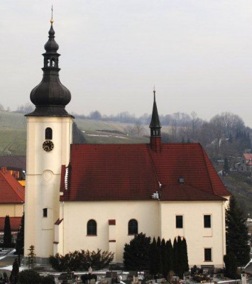 Staříč, kostel Nalezení svatého Kříže