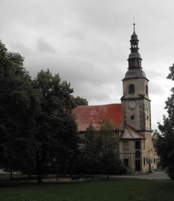 Liberec-Rochlice, kostel sv. Jana Křtitele