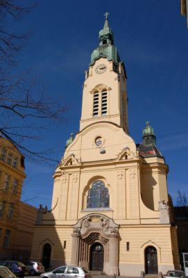 Brno, kostel Neposkvrněného početí Panny Marie na Křenové