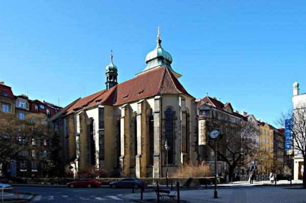 Praha 1 - Staré Město, kostel sv. Ducha