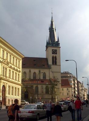 Praha 2 - Nové Město, kostel sv. Štěpána