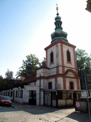 Praha 2 - Nové Město, kostel Nejsvětější Trojice, Podskalí