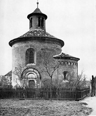 Praha 2 - Vyšehrad, rotunda sv. Martina