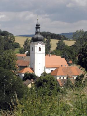Vranov, kostel sv. Václava