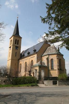 Ovčáry, kostel sv. Jakuba Staršího