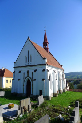 Petrovice II, kostel sv. Martina