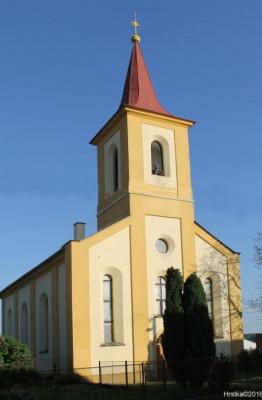 Libkovice pod Řípem, evangelický kostel