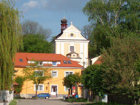 Zeměchy, kostel Narození sv. Jana Křtitele