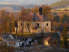 Stříbrná Skalice, kostel sv. Jana Nepomuckého