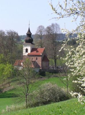 Stříbrná Skalice, kostel sv. Jakuba Většího, hřbitov
