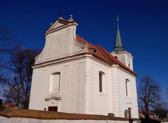 Líšnice, kostel Všech svatých