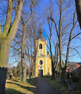 Řevnice, kostel sv. Mořice