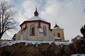 Kluky, kostel sv. Jana Křtitele