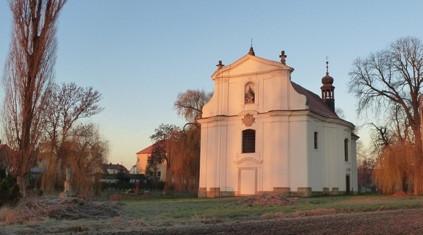 Křešice, kostel Navštívení Panny Marie